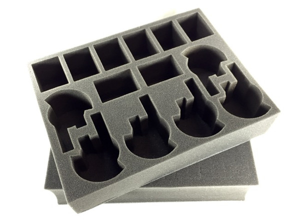 (Tau) Firebase Support Cadre Formation Foam Kit for the P.A.C.K. System Bags (BFL)