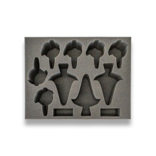 (Eldar) 3 Voidweaver 6 Skyweaver Foam Tray (BFL-4)