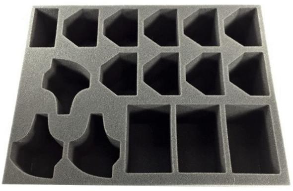 (Tyranids) 9 Ravener 3 Warrior 3 Lictor Foam Tray (BFL-3.5)