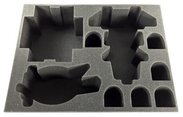(Space Marines) Kingsguard Stormforce Formation Foam Tray (BFL-4)