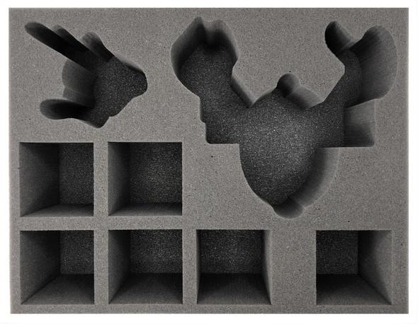 (Tyranids) Hypertoxic Node Formation Foam Tray (BFL-4.5)