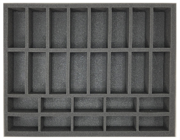 (Gen) Flames of War 10 Small 16 Medium Tank Foam Tray (BFL-1.5)