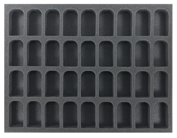 (Hobby) 36 GW Larger Shade Paint Pot Foam Tray (BFL-1)