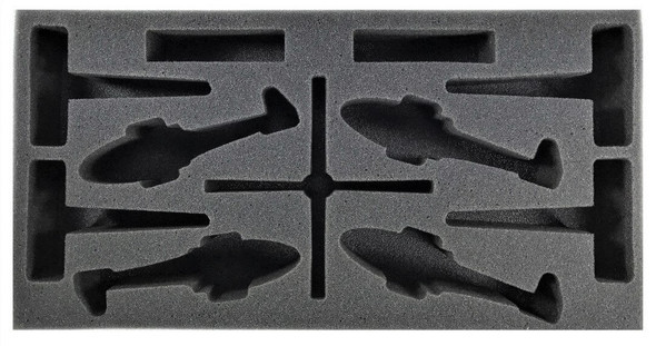 (Team Yankee) Flames of War British Lynx Foam Tray (BFM-2)