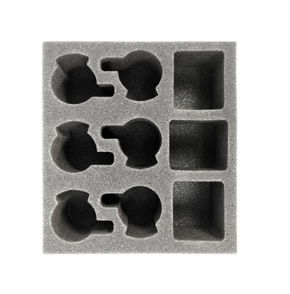 (Skorne) Cataphract Arcuarii Plastic Unit Foam Tray (PP.5-3)
