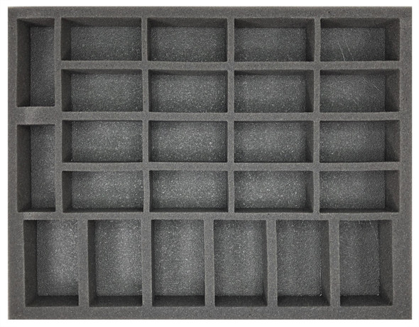 (Gen) Flames of War 6 Artillery 18 Tank Foam Tray (BFL-1.5)