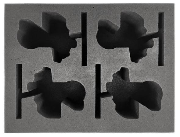 Age of Sigmar Grundstok Gunhauler Foam Tray (BFL-4)
