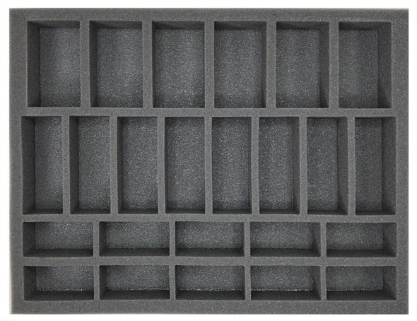 (Gen) Flames of War 6 Artillery 8 Medium Tank 10 Small Tank Foam Tray (BFL-1.5)