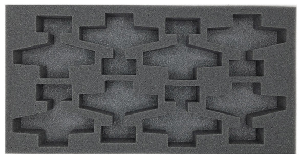 (Gen) Flames of War 8 Airplane Foam Tray (BFM-1.5)