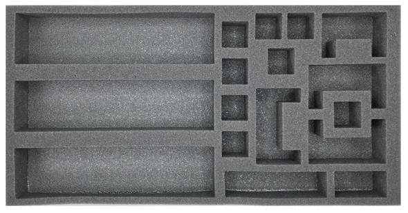 (Gen) Flames of War Defense and Dig-In Markers Foam Tray (BFM-1.5)