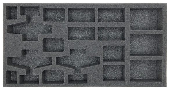 (FMG) Flames of War Firestorm Market Garden German Planes and AA Foam Tray  (BFM-1.5)
