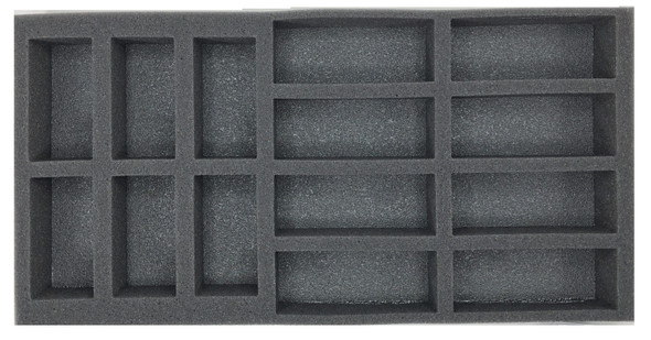 (FMG) Flames of War Firestorm Market Garden German Tank Foam Tray (BFM-1.5)