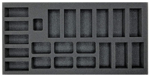 (FMG) Flames of War Firestorm Market Garden German Tanks and Panzergrenadier Platoon Foam Tray (BFM-1.5)