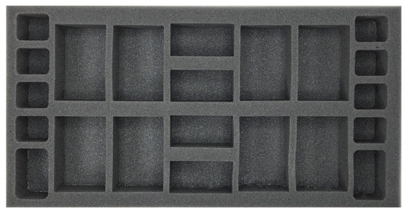 (Gen) Flames of War Generic Artillery Foam Tray (BFM-1.5)