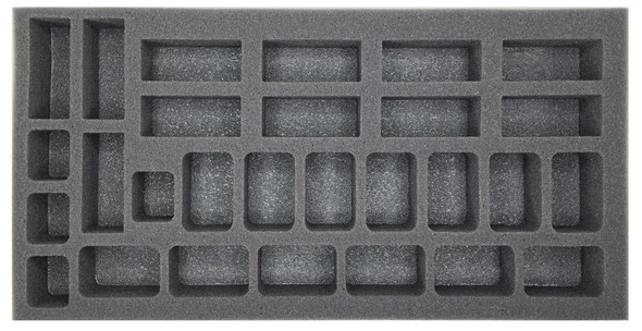 (German) Flames of War German Gepanzerte Panzergrendadierkompanie Foam Tray (BFM-1.5)