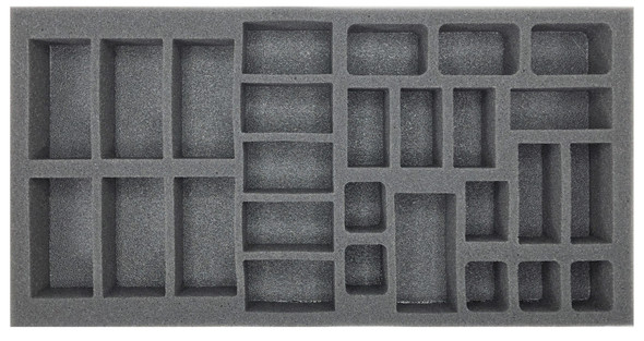 (German) Flames of War German Hermann Goring Division Panzerkompanie Foam Tray (BFM-1.5)