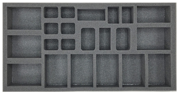 (German) Flames of War German Support Foam Tray (BFM-1.5)