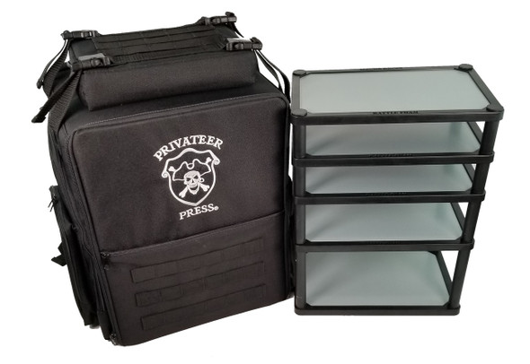 Privateer Press Backpack Magna Rack Original Load Out (Black)