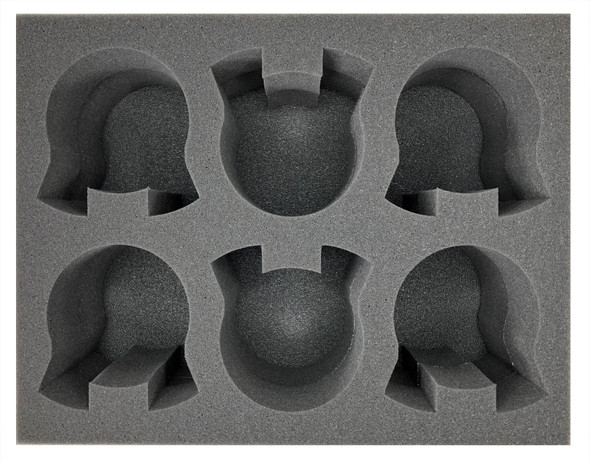 (Imperial Knight) 6 Armiger Foam Tray (BFL-5)