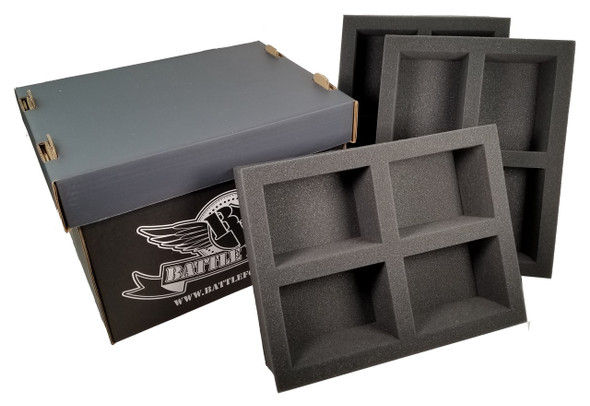 Battle Foam Large Stacker Box 12 POP Load Out (Black)
