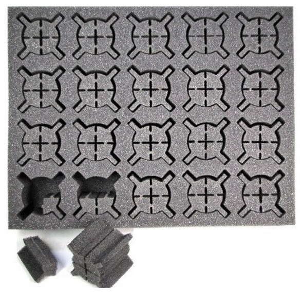 Iso Medium and Large Troop or Character Foam Tray (BFL)