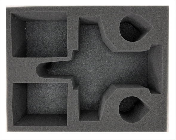 (Astra Militarum) 1 Valkyrie 2 Tank 4 Heavy Weapon Foam Tray (BFL-4)