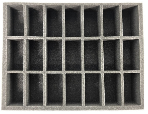 (Gen) 21 Generic Tall Model Foam Tray (BFL)