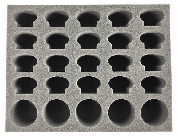 (Genestealer Cults) 5 Atalan Jackals Foam Tray (BFL-2.5)