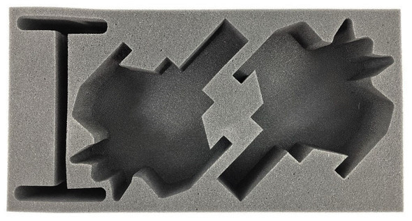 Dust 1947 2 Universal Axis Aircraft Foam Tray (BFM-3)