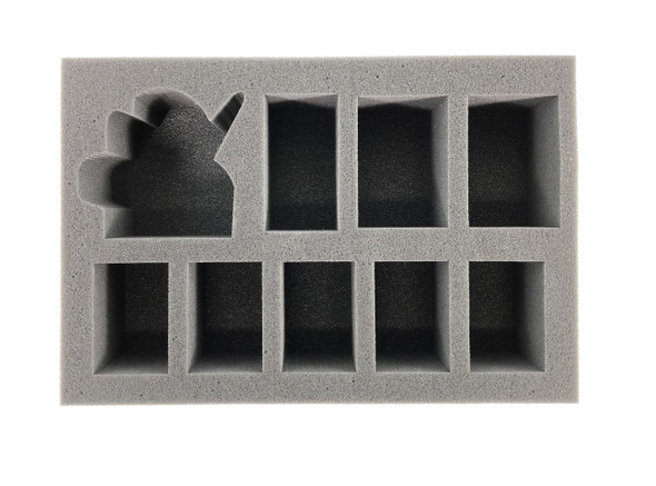 (Chaos Space Marine) Abaddon the Despoiler Foam Tray (BFS-2.5)