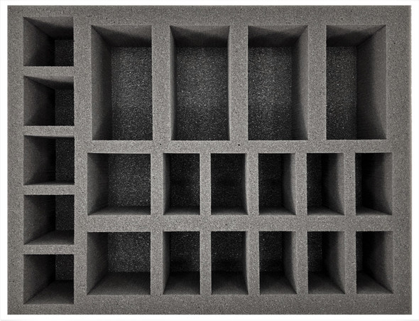 (Tomb Kings) Undead Construct Foam Tray (BFL-4)