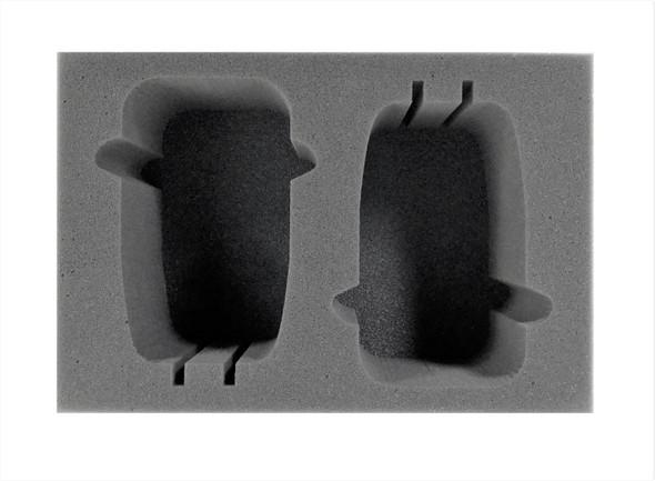 (Adeptus Mechanicus) 2 Skorpius Disintegrator/Dunerider Foam Tray (BFS-3.5)