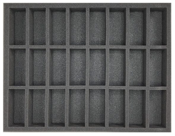 (High Elves) 24 Command/Banner Foam Tray (BFL-1.5)