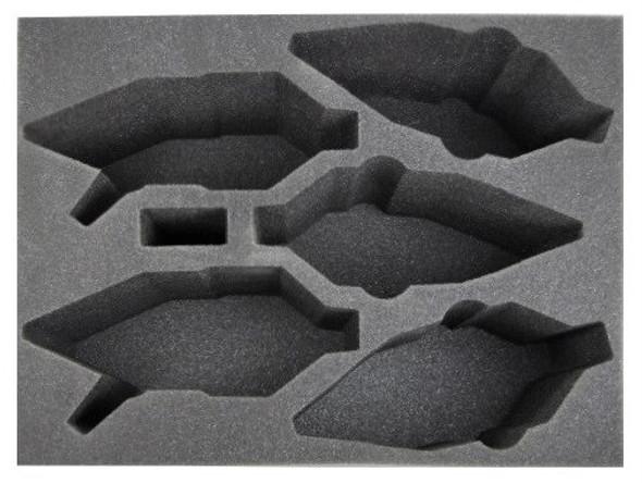 (Dark Eldar) 3 New Raveger 2 Raider Foam Tray (BFL-6)