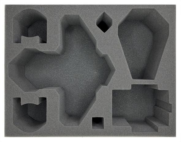 (Space Marines) Blood Angels Stormraven 1 Drop Pod 1 Predator Foam Tray (BFL-4.5)