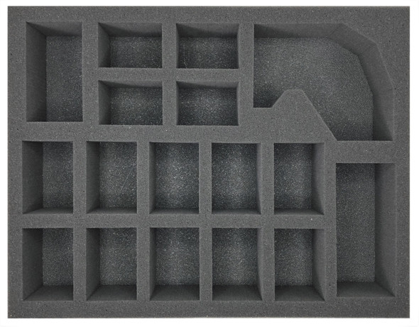 (Beastmen) 10 Minotaur 1 Giant 1 Standard Bearer Foam Tray (BFL-2.5)
