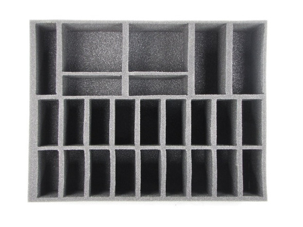 (Dark Elves) 18 Cavalry 2 Bolt Thrower Foam Tray (BFL-4)