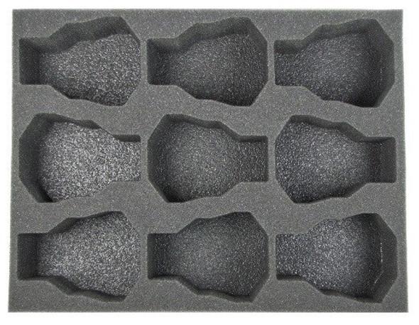 (Space Marines) 9 Land Speeder Foam Tray (BFL-3)