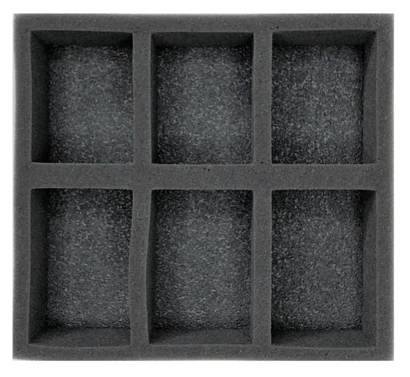 (W/H) Warmachine/Hordes Warjack Warbeast Half Foam Tray (PP.5)