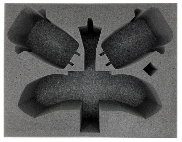 Adeptus Mechanicus 1 Archaeopter 2 Skorpius Disintegrator/Dunerider Foam Tray (BFL-5)