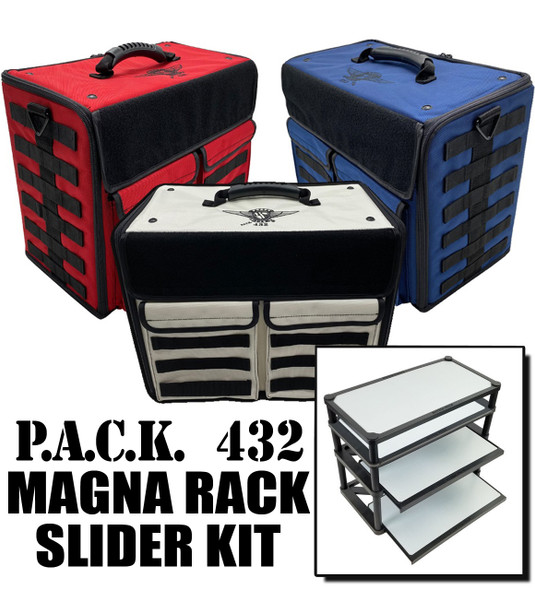 (432) P.A.C.K. 432 Molle Horizontal with Magna Rack Slider Load Out