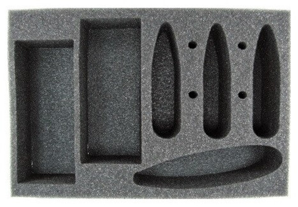 Prussian Carrier and Battleship Foam Tray (BFS-2)