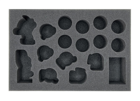 Second Season Black Orc Blood Bowl Team Foam Tray (BFS-2)
