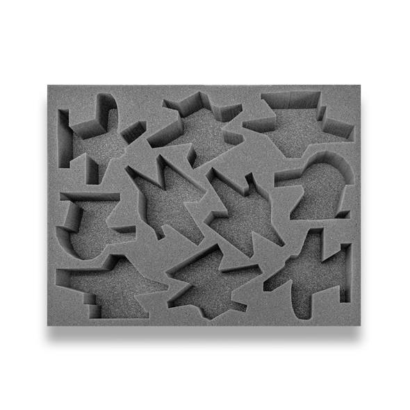 Age of Sigmar Hedonites of Slaanesh 10 Slickblade/Blissbarb Seeker Foam Tray (BFL-2.5)