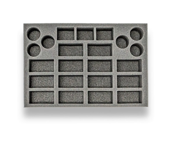 (Necromunda) Escher Death-Maidens and Wyld Runners Foam Tray (BFS-1.5)