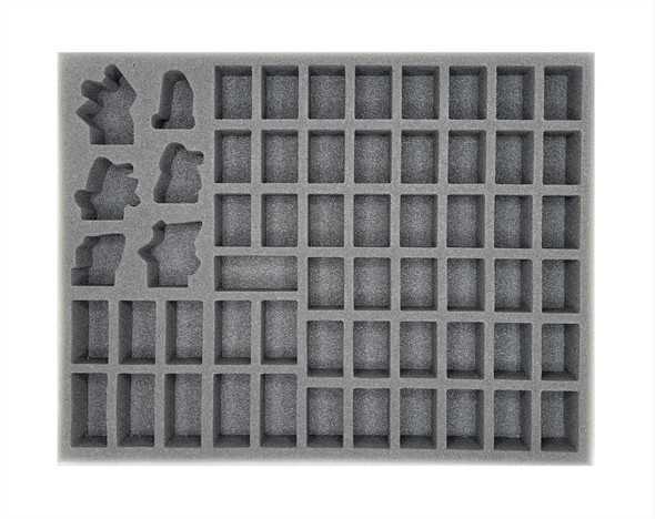 (Astra Militarum) Gaunt's Ghosts and Cadian Shock Troops Foam Tray (BFL-1.5)