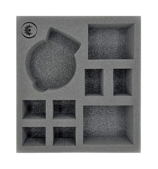 (Warcaster) The Iron Star Alliance Command Group with Interceptor Half Foam Tray (PP.5-3)