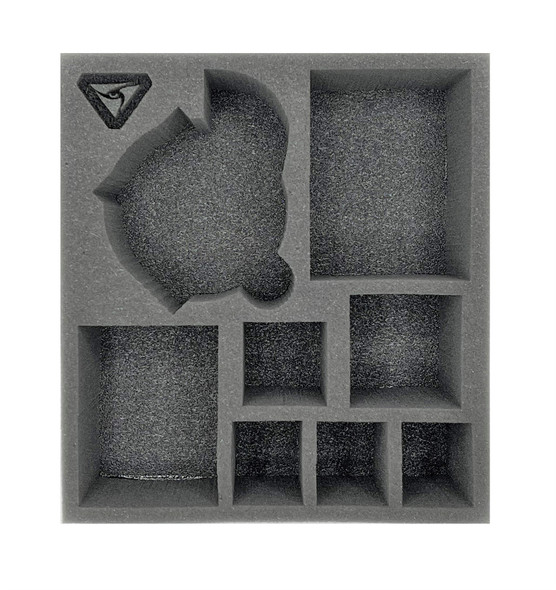 (Warcaster) Aeternus Continuum Command Group with Scythe Half Foam Tray (PP.5-3)