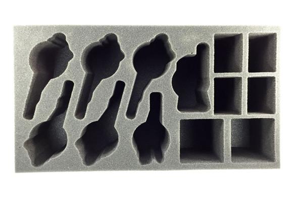 (Khador) Iron Fang Uhlan Foam Tray (PP-3.5)