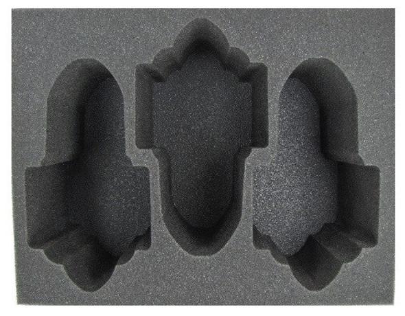 (Necron) 3 Doomsday/Ghost Arks Foam Tray (BFL-5.5)